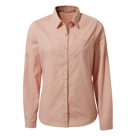Craghoppers Kiwi Longsleeve Shirt Dames, corsage pink